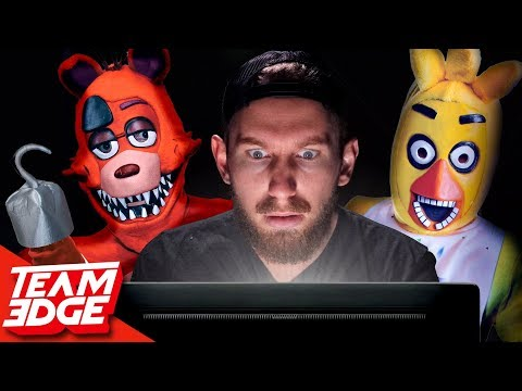 Survive The Night!  Five Nights At Freddys IRL!