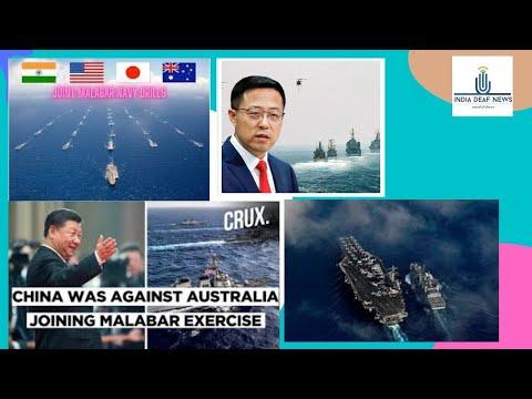 World news 21st Oct:Taken note of it: China on Australia joining Malabar naval drills