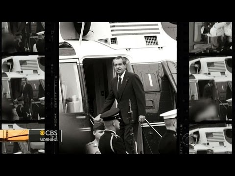 Capturing The Last Days Of Nixon's Controversial Presidency