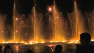 Липецк. Музыкальный фонтан.