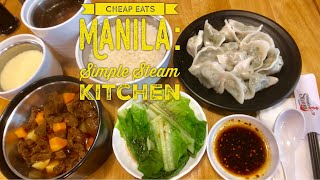 Gambar cover Cheap Eats Manila: Simple Steam Kitchen Ayala Malls Circuit Makati Silky Black Chicken Ginseng Soup