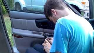Buick century regal door panel removal
