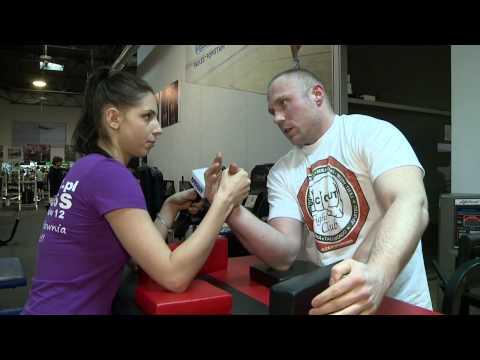 Armwrestling wskazówki i porady Piotr Szczerba. Mistrzostwa Częstochowy w siłowaniu na rękę