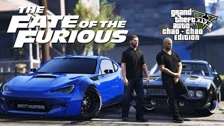 GTA 5 - Dominic Toretto killed CIpher! Vin Diesel - The Fate of the Furious