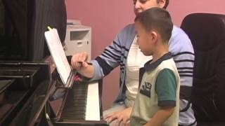 First Piano Lessons with the Young Beginners