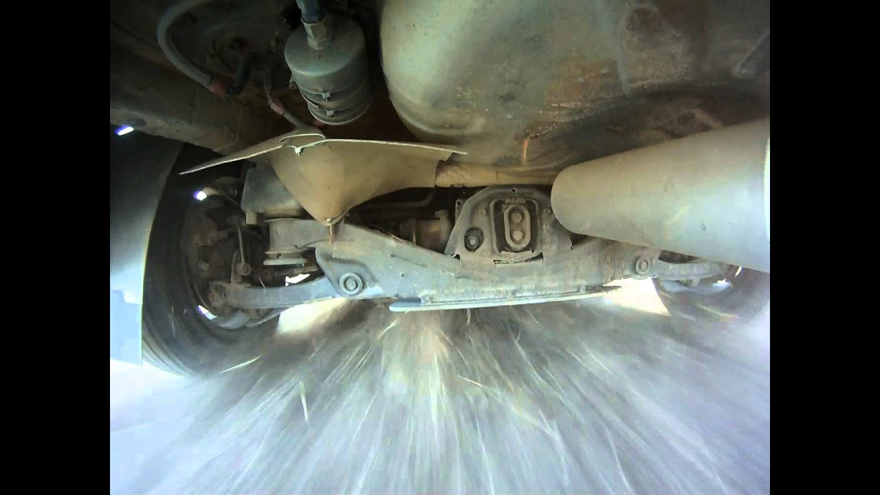 toyota sienna rear differential support