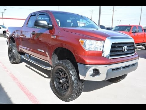 2008 toyota tundra sr5 double cab lifted truck youtube. Black Bedroom Furniture Sets. Home Design Ideas