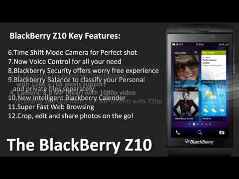 BlackBerry Z10 Mobile Price and Specifications