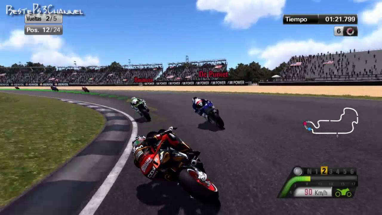 MotoGP 2013 PS3: Probando el juego [Español HD] GamePlay - YouTube