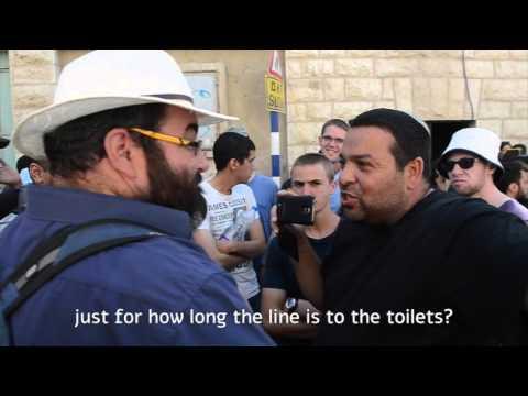 Ofer Ohana - the 'provoking settler'
