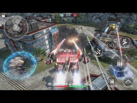 ROBOT WARFARE ONLINE Android Gameplay