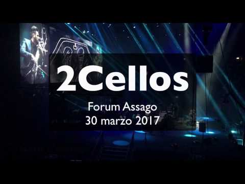 2Cellos Live Concert @ Milano Forum Assago - 30 march 2017 (1,5 ore... in 25 minuti)