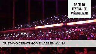 Homenaje  a Gustavo Cerati Festival de Viña / 60 Momentos de Culto #VIÑA #CERATI  #FESTIVALDEVIÑA