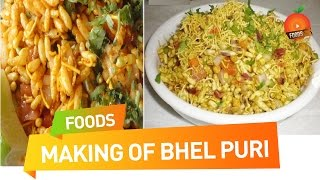 Tasty Bhel Puri Easy Recipe - Orange Foods