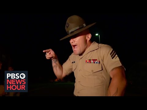The chaos and fog of the first night of Marine Corps boot camp