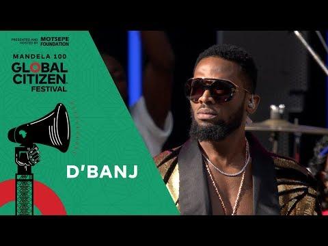 D'banj Performs the South African National Anthem   Global Citizen Festival: Mandela 100