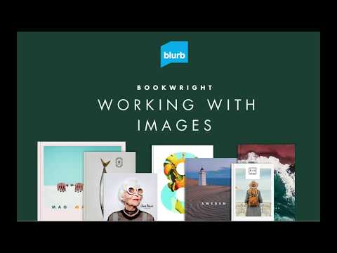 Working With Images On BookWright - Blurb's Book Publishing Software