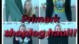 Primark shoplog haul november 2014!! Thumbnail