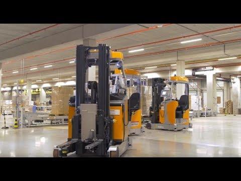 Автоматические ричтраки на складе