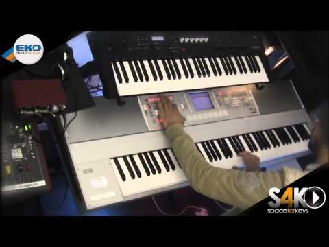 Korg M3 expanded 88 Jam part1 performed by S4K + Ps60 ( Space4Keys Keyboard Solo )