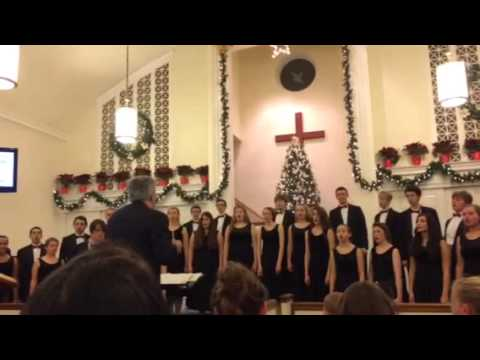 Quakertown Community High School Varsity Singers 2014: Little Drummer Boy