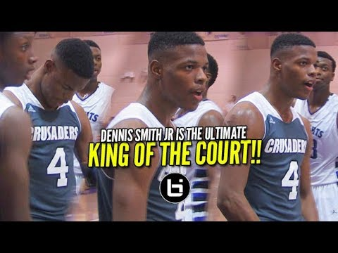 Dennis Smith Jr Puts King of the Court on LOCK! FULL High School HIGHLIGHTS!!