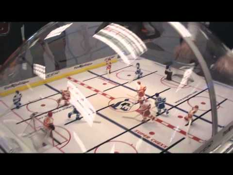 Bubble Hockey - Check Out The SICK Goal!