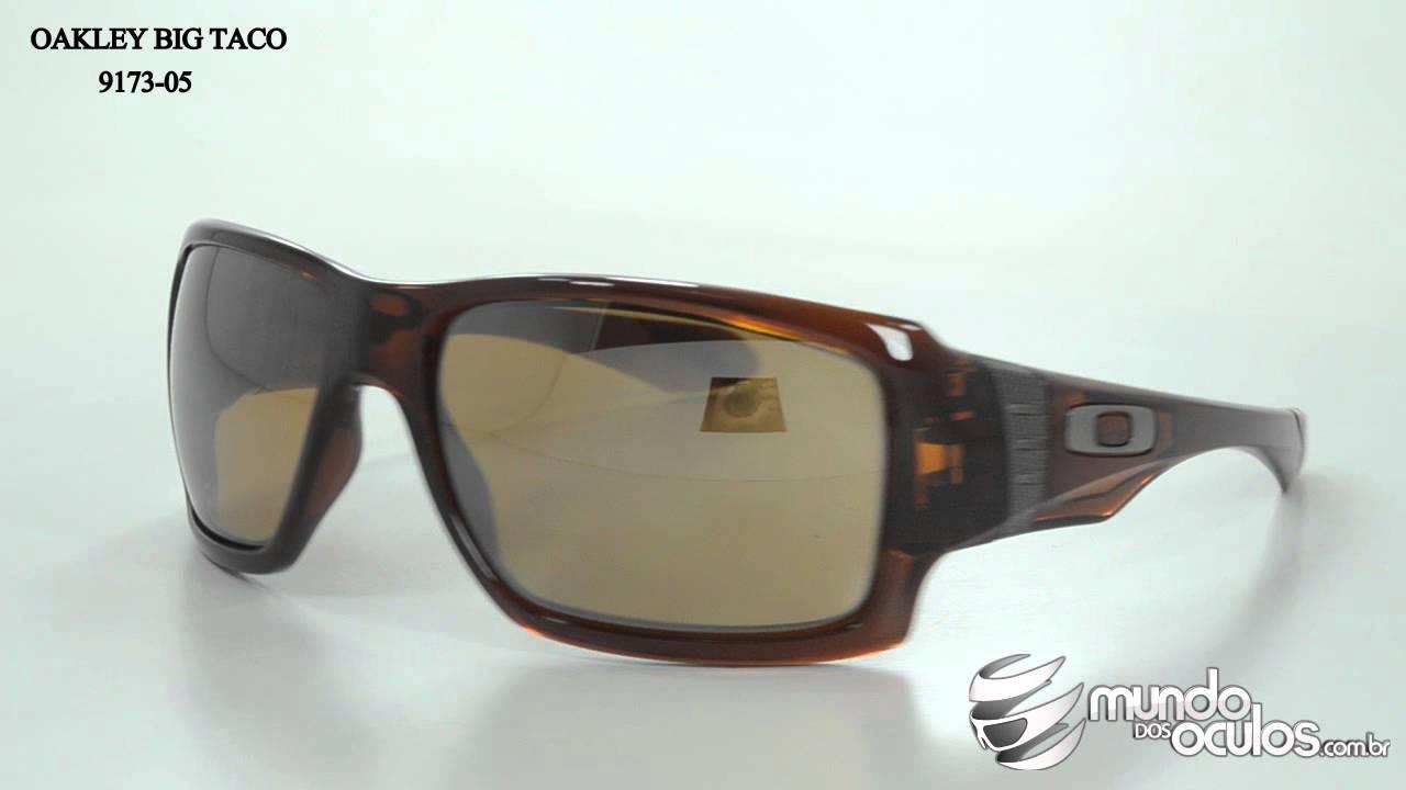 a275da6fc0f Oakley Big Taco Polarizado - 9173-05 - YouTube
