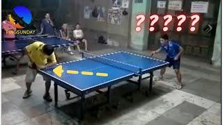 Что произойдет, если вы плохо подаете в настольном теннисе?