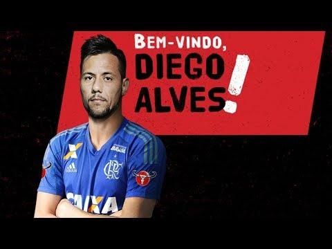 Coletiva de Apresentação - Diego Alves -  AO VIVO