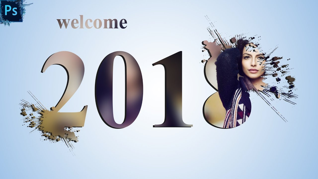 Photoshop new year editing inside text effect photoshop photoshop new year editing inside text effect photoshop tutorial happy new year 2018 baditri Gallery