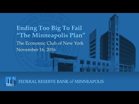 Kashkari Presents the 4 Steps of the Minneapolis Plan