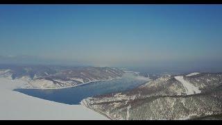 Russia Lake Baikal March 2017 4K - - Ice diving, Dog sledge, Helicopter - DJI Mavic - GoP ...