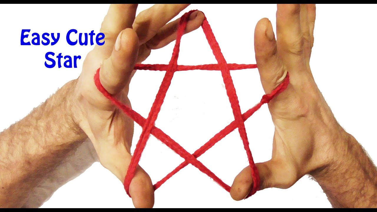 How To Make A Cats Cradle Star