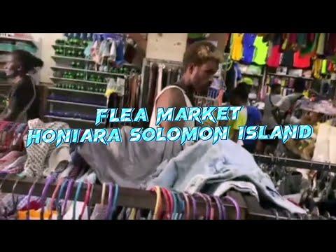 second-hand shop || flea market || Honiara, Solomon Islands