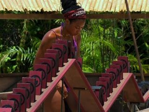 Survivor: Blood vs. Water - Redemption Duel:  Domino Effect