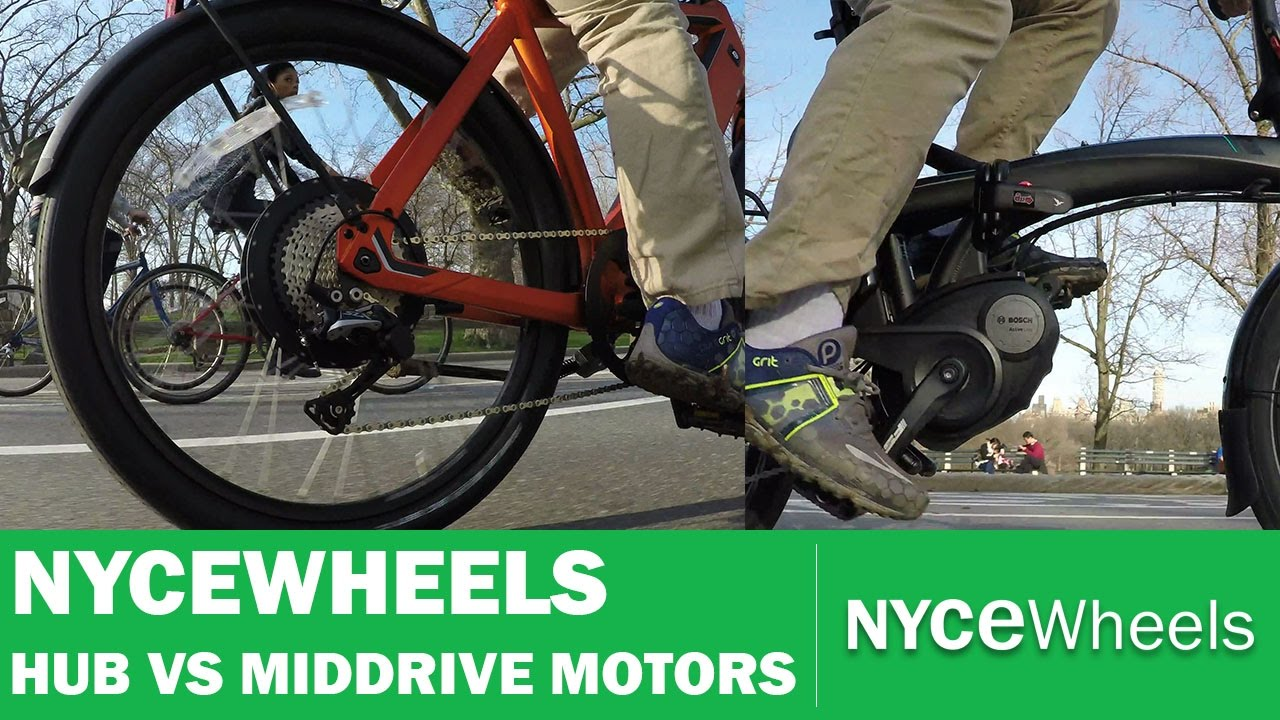 Hub Motor vs Mid Drive | Electric bike motor comparison