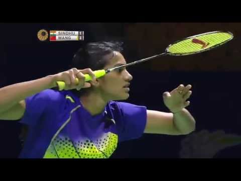 Thaihot China Open 2015 | Badminton R16 M2-WS | P.V. Sindhu vs Wang Shixian