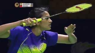 Thaihot China Open 2015 | Badminton R16 M2-WS | P.V. Sindhu vs Wang Shixian