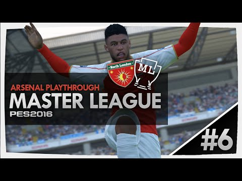 PES 2016 - Master League #6 THE GUNNERS ARE BACK!