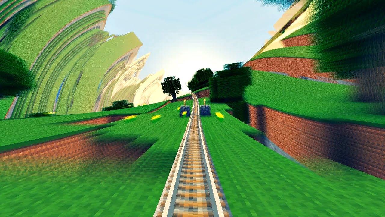 Minecraft Acid Interstate [Far Lands + Acid Shaders]