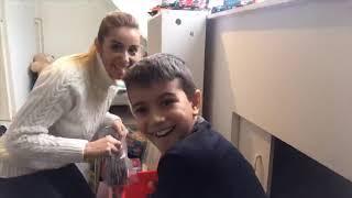 Vlog 115 / Cocuk Odasini Duzenliyoruz   Yilbasi Hediyeleri   Kerst Paketinden Ne