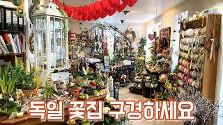 독일 꽃가게, 꽃집 함께 구경해 보아요!! 유럽 꽃가게…