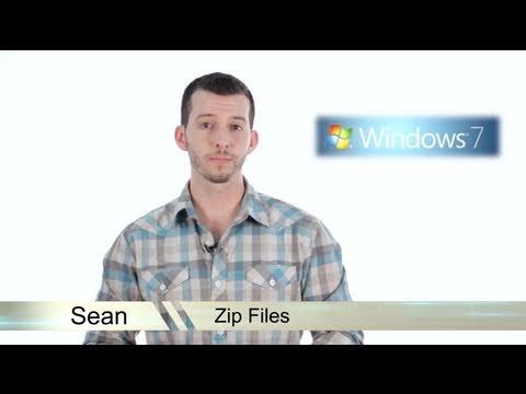 Learn Windows 7 - Create Zip Files