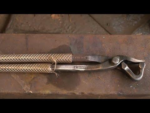 Hot fitting tongs Mk 2