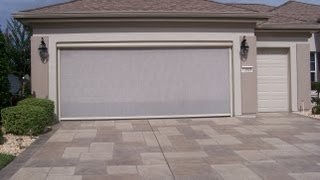Garage Door Sliding Screens, Skeet'r Beat'r, Retractable Garage Screens Leesburg/ Lady Lake