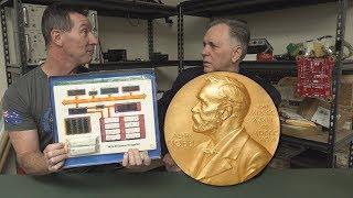 EEVblog #1201 - Nobel Laureate in the EEVBlog Lab!