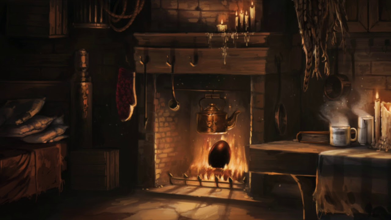 Asmr hagrid 39 s hut harry potter ambience ambient What house was hagrid in