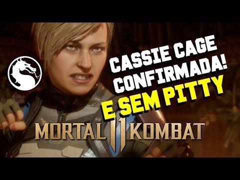 MORTAL KOMBAT 11 - CASSIE CAGE CONFIRMADA E SEM A DUBLAGEM DA PITTY #MK11 thumbnail