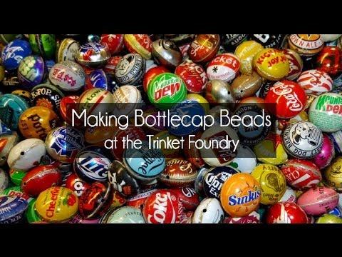 Making Bottle Cap Beads